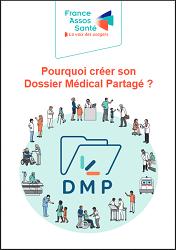 """Brochure France Asso Santé """"Pourquoi créer son Dossier Médical Partagé ? """""""