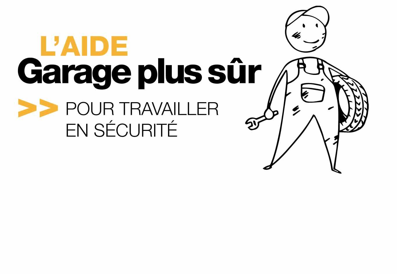 Bandeau promotionnel : L'aide Garage+