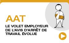 AAT : le volet employeur de l'avis d'arrêt de travail évolue