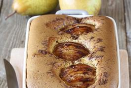 Photo recette : Clafoutis aux poires