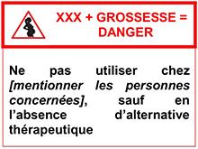 pictogramme_médicament_dangereux_grossesse