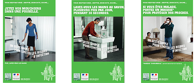 Affichettes Inpes