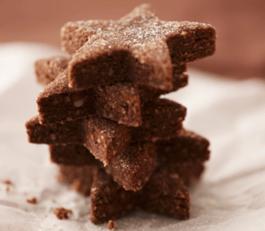 Photo recette : Sablés 'chocolat et gingembre'