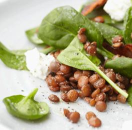 Photo recette : Salade de lentilles