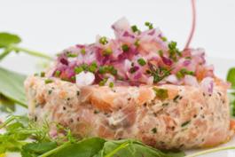 Photo recette : Tartare de saumon