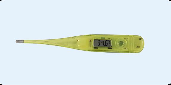 Schéma : thermomètre électronique
