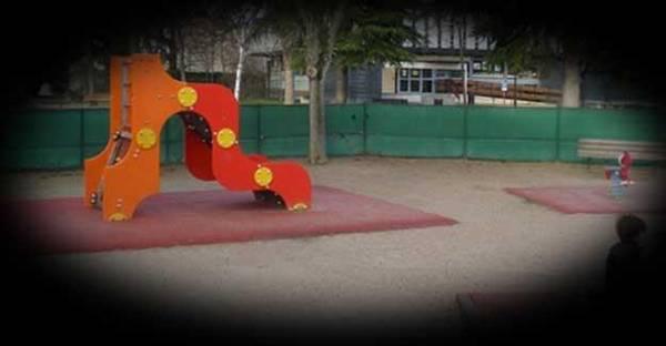 Photo : vue dégradée d'un jardin d'enfants