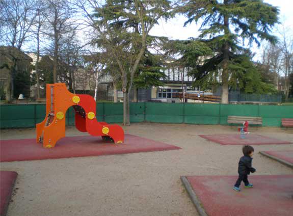Photo : vue normale d'un jardin d'enfants